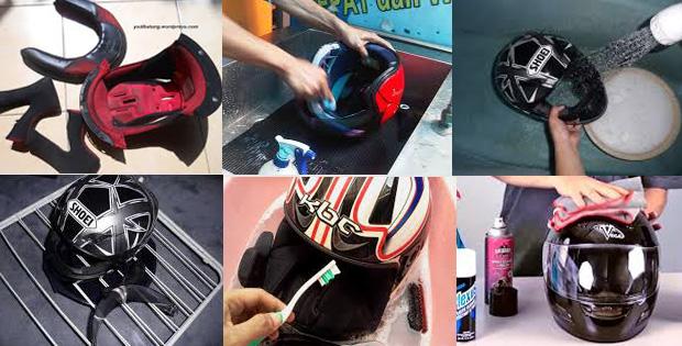 cara-membersihkan-helm-ink