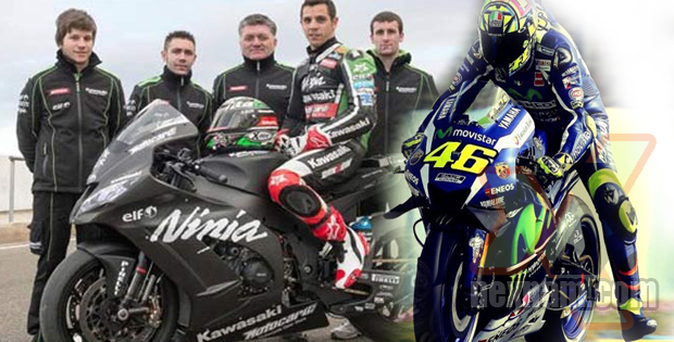 Rossi VS Pembalap Jalanan Liar