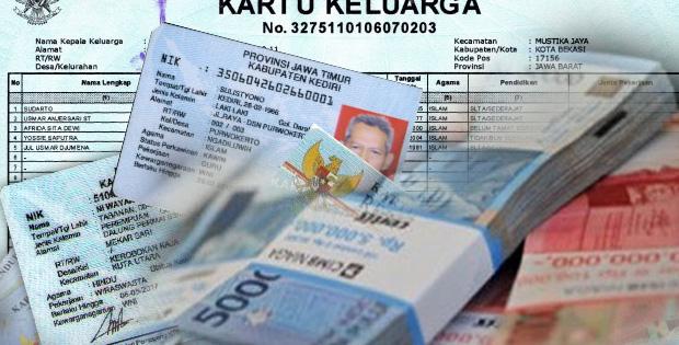 Pinjaman Uang Jaminan KTP KK